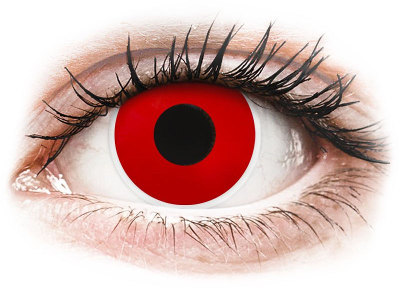 ColourVUE Crazy Lens - Red Devil - zerówki