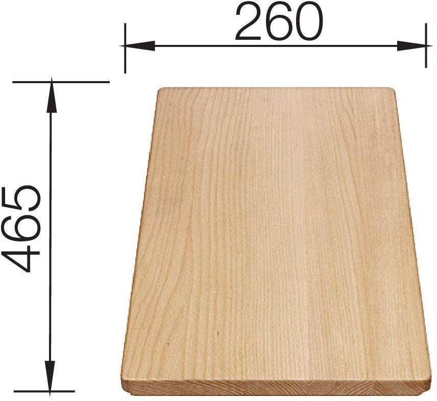 BLANCO Deska drewniana buk, 465x260, [FAVOS MINI] 225685 *(22)-266-82-20* Zapraszamy :)