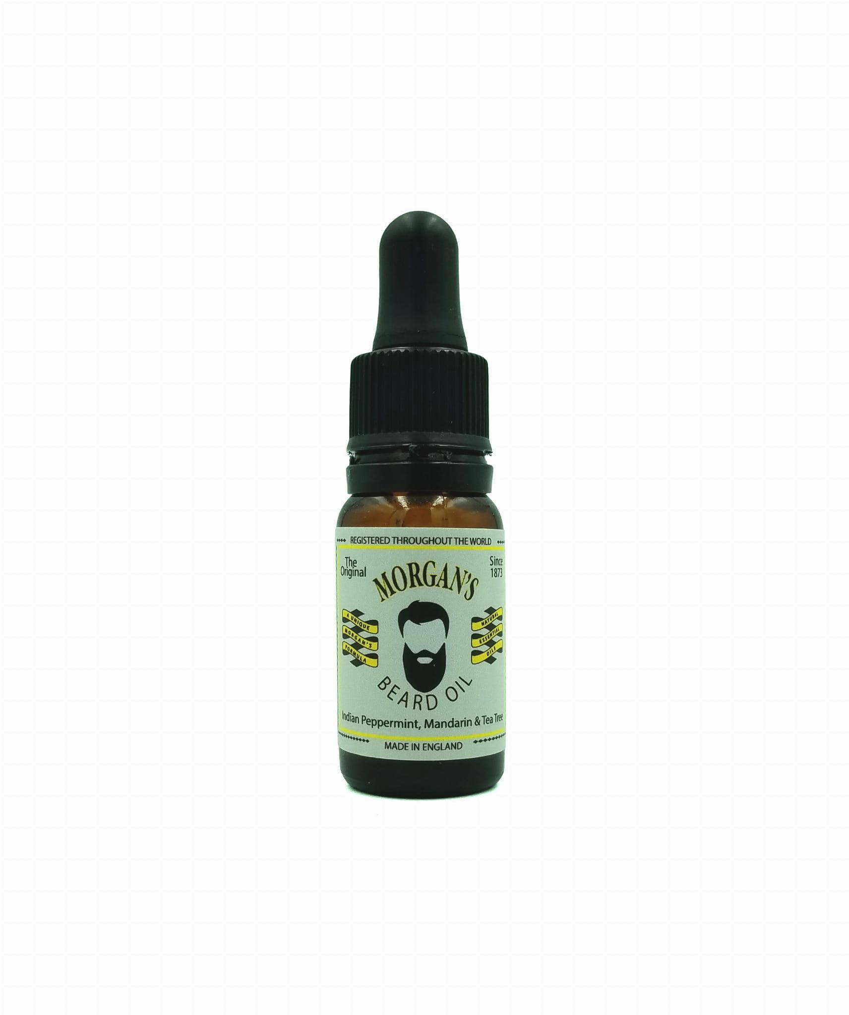 Morgans 100% Natural Beard Oil olejek do brody 10ml