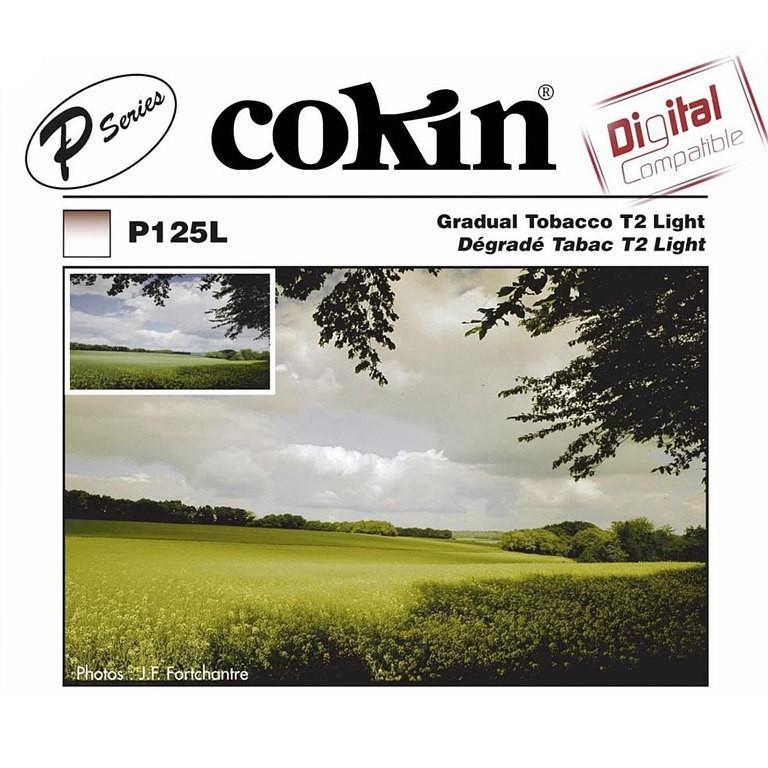 Filtr Cokin P125L - połówkowy tabaczkowy T2 z twardym przejściem - WYSYŁKA W 24H
