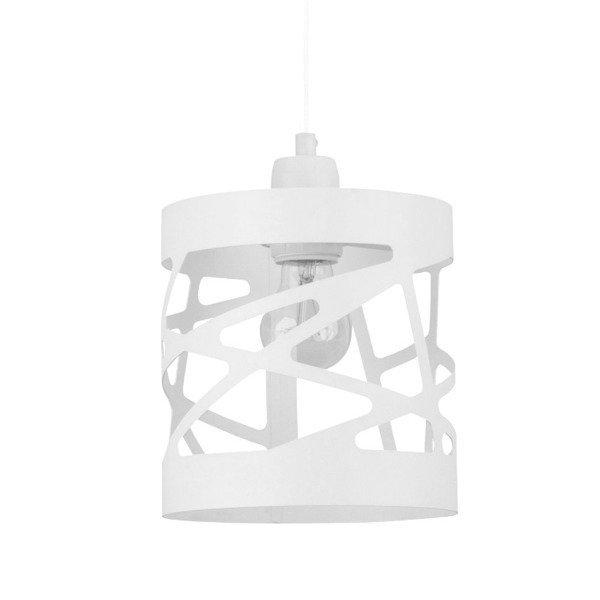 Lampa wisząca MODUŁ FREZ biała 17,5cm
