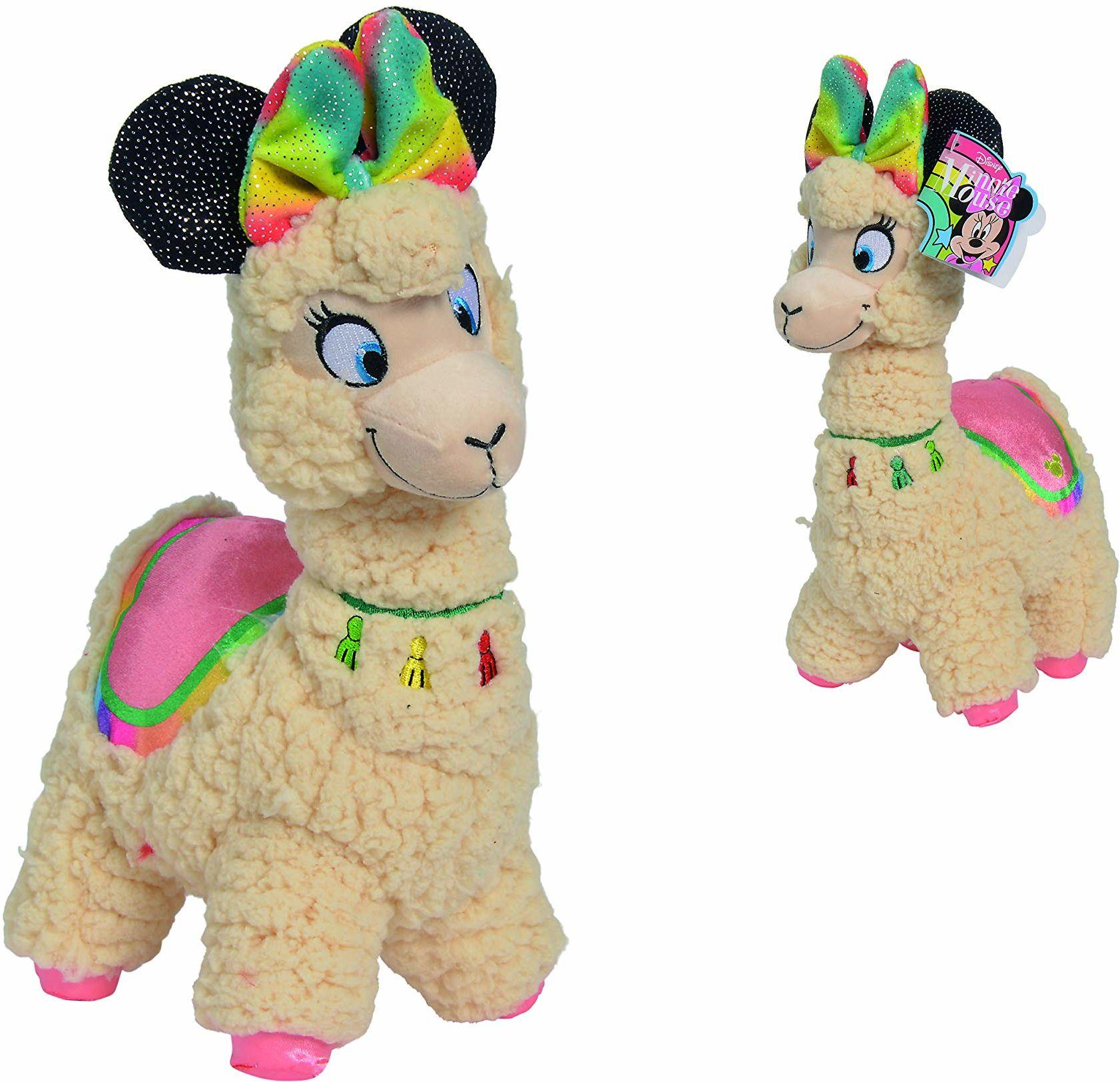 Simba 6315876934 Disney Minnie Lama, 25 cm