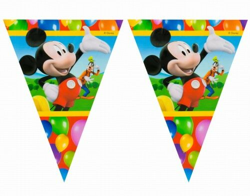 Baner z flag Myszka Miki, Mickey Mouse