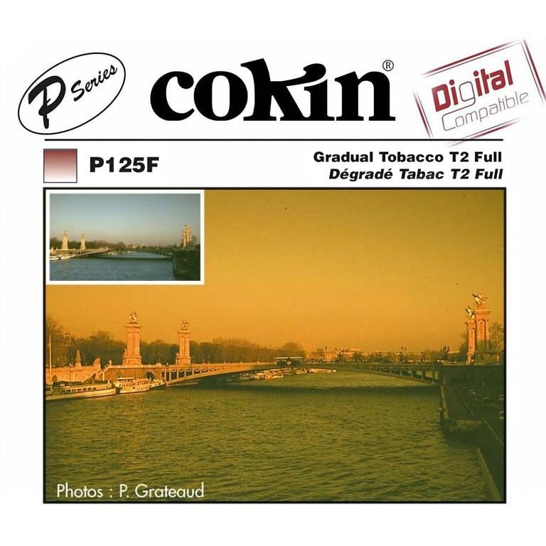 Filtr Cokin P125F - tabaczkowy z miękkim przejściem koloru przez cały filtr