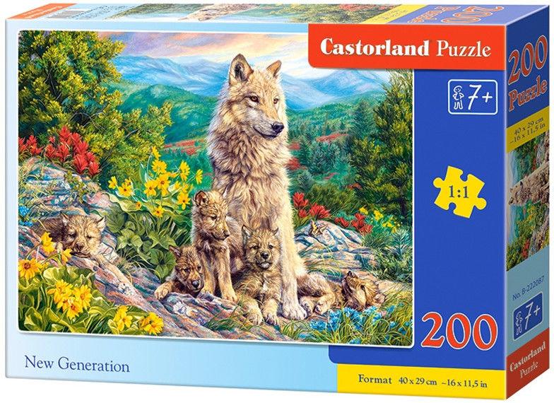 Castor Puzzle Nowa generacja 200 elem. 222087