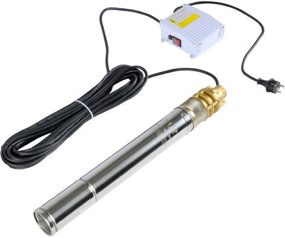 Pompa głębinowa do wody 1100W 2520l/h z zaworem zw
