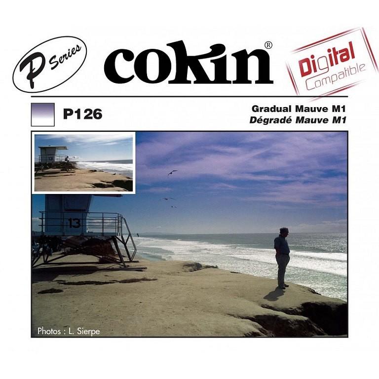 Filtr Cokin P126 - połówkowy fioletowy M1 z twardym przejściem