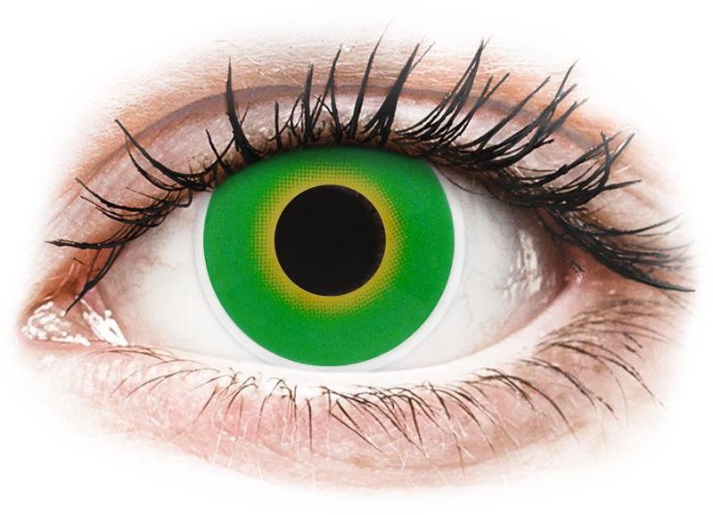 ColourVUE Crazy Lens - Hulk Green - zerówki