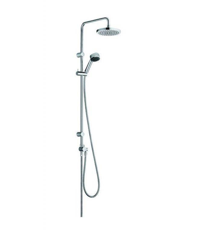Zenta Kludi dual shower system bez bateri chrom Darmowa dostawa