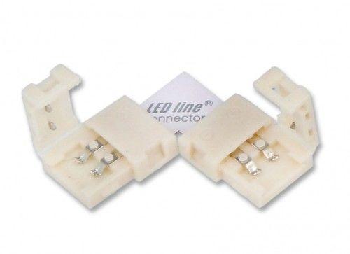 Łącznik kątowy CONNECTOR CLICK do taśm 8mm 2pin typ L