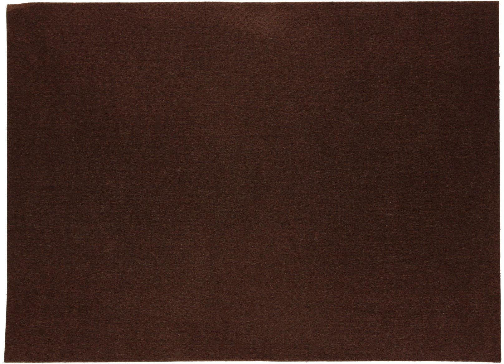 Filc samoprzylepny 30x40 brązowy