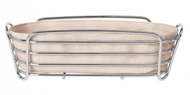 Blomus - koszyk na pieczywo oval - rose dust