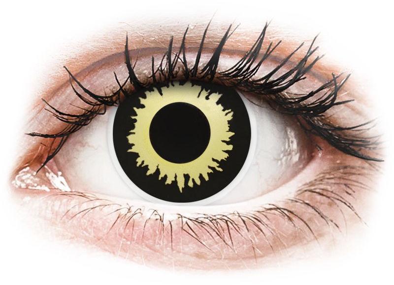 ColourVUE Crazy Lens - Eclipse - zerówki