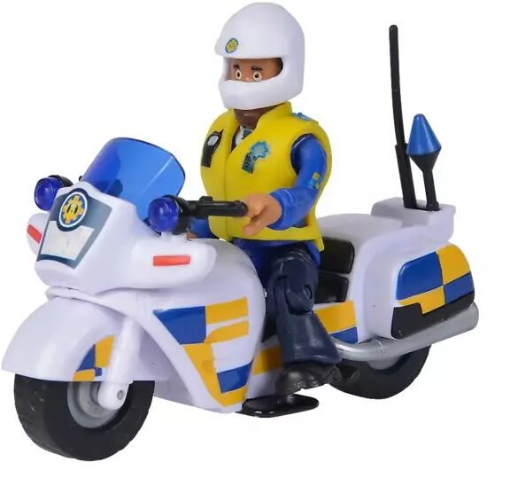 Strażak Sam Motor policyjny z figurką - Simba