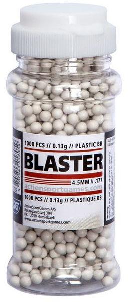 Śrut plastikowy BB ASG Blaster 4,5 mm 1000 szt. (17939)
