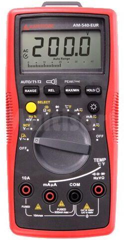 Multimetr cyfrowy BEHA-AMPROBE LCD (5999) podświetlany V DC:1mV 1000V