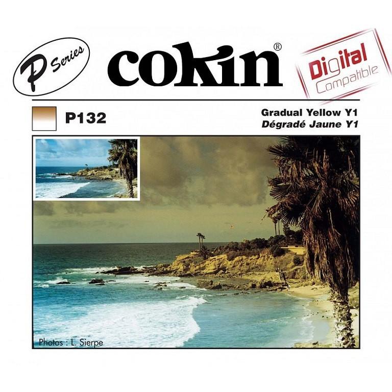 Filtr Cokin P132 - połówkowy żółty Y1 z twardym przejściem