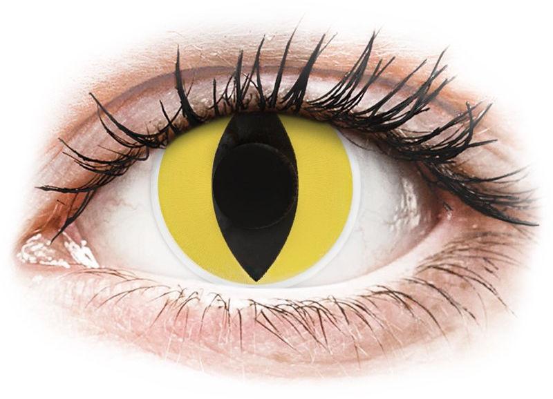ColourVUE Crazy Lens - Cat Eye - zerówki