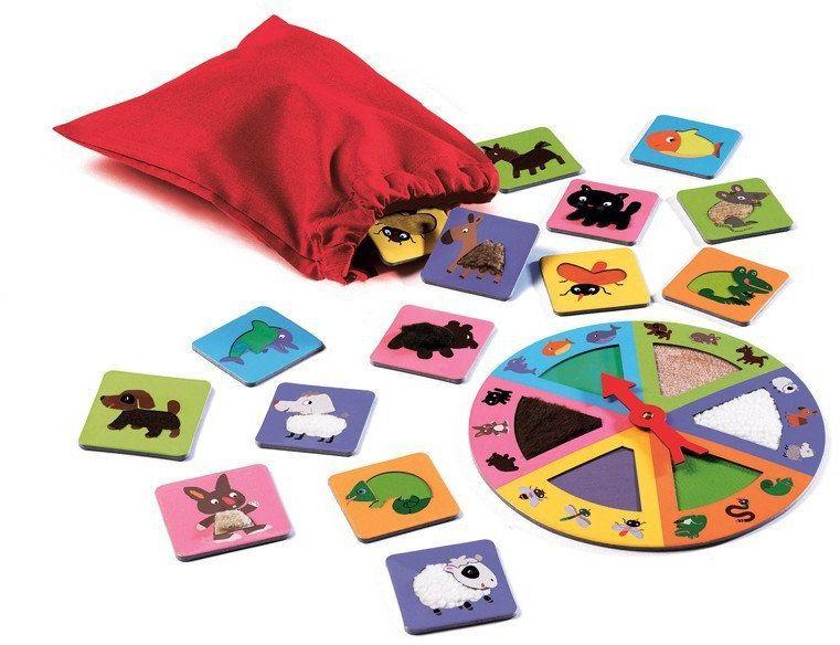 Lotto dotykowe - gra edukacyjna, DJ08129-Djeco - zabawki rozwojowe