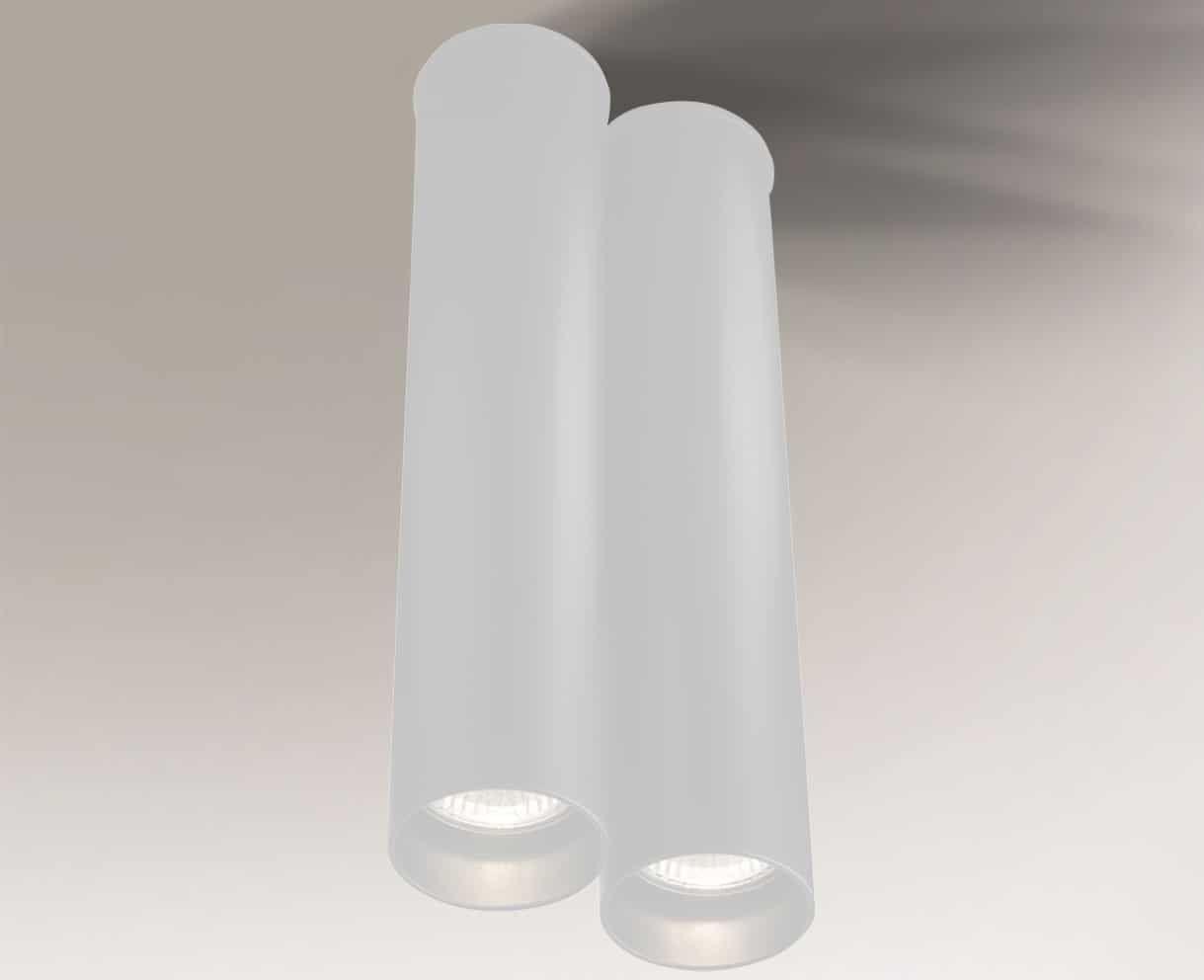 Oprawa natynkowa ARIDA 7013 Shilo biały