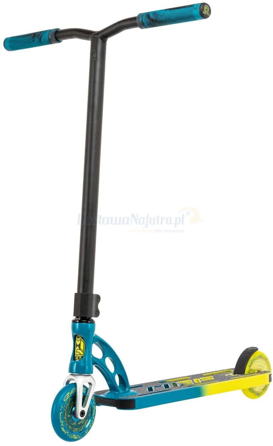 Hulajnoga wyczynowa Stunt Madd Gear MGP Origin Pro Faded 110 mm yellow petrol model 2021