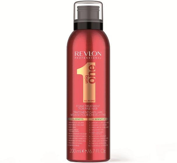 Revlon Uniq One Foam pianka pielęgnująca cienkie włosy 200ml