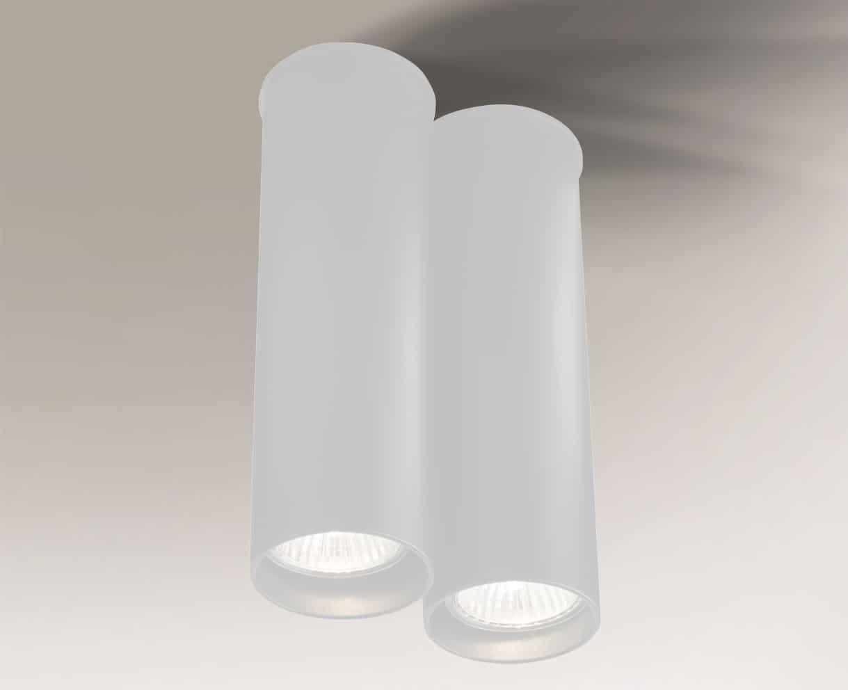 Oprawa natynkowa ARIDA 7012 Shilo biały