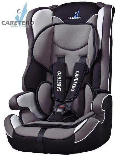 Caretero Vivo fotelik samochodowy 9-36 kg Black