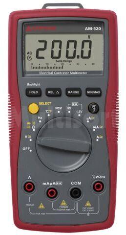 Multimetr cyfrowy BEHA-AMPROBE LCD (3999) podświetlany V DC:1mV 600V