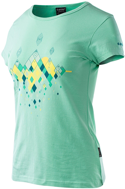 Hi-Tec Damska koszulka Hubel zielony Cabbage XS