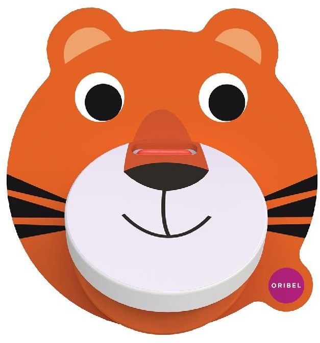 Oribel - Zabawka Kołatka Tygrysek Vertiplay, Oribel