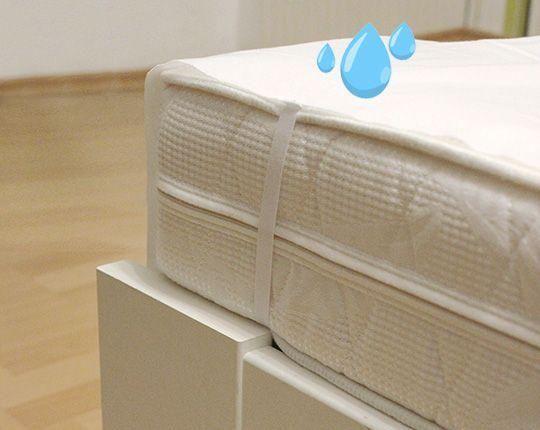 Inkontynencyjne prześcieradło na materac możliwe do prania 100 x 200 cm Hydas 1760