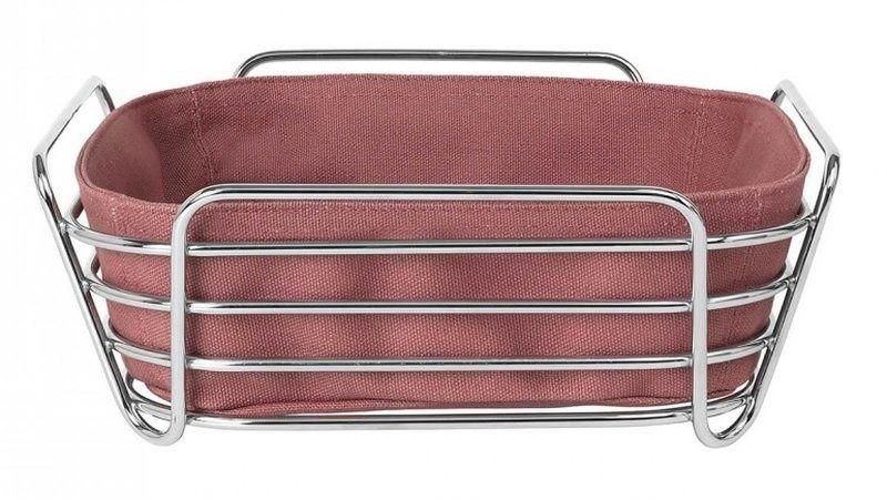 Blomus - koszyk na pieczywo oval - whitered rose - 25 cm
