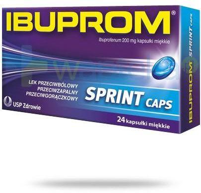 Ibuprom Sprint Caps 200mg 24 kapsułki