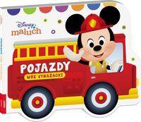 Disney Maluch Pojazdy Wóz strażacki