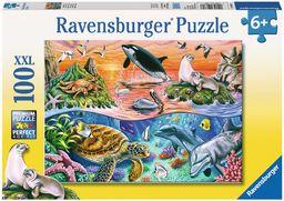 Ravensburger Puzzle dziecięce 10681 - kolorowy ocean - 100 elementów