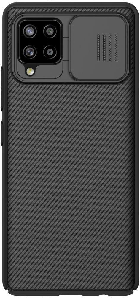 Nillkin CamShield Pro Case pancerne etui pokrowiec osłona na aparat kamerę Samsung Galaxy A42 5G czarny