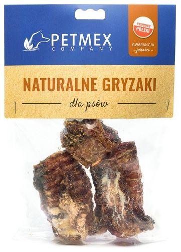 PETMEX  Tchawica wołowa cięta gryzak naturalny 100g