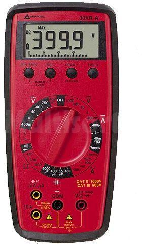 Multimetr cyfrowy BEHA-AMPROBE LCD 3,75 cyfry (3999) Bargraf:41 segm.