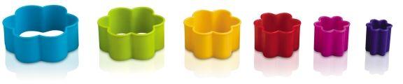 Foremka do wycinania ciastek - kwiatuszek (różne kolory)