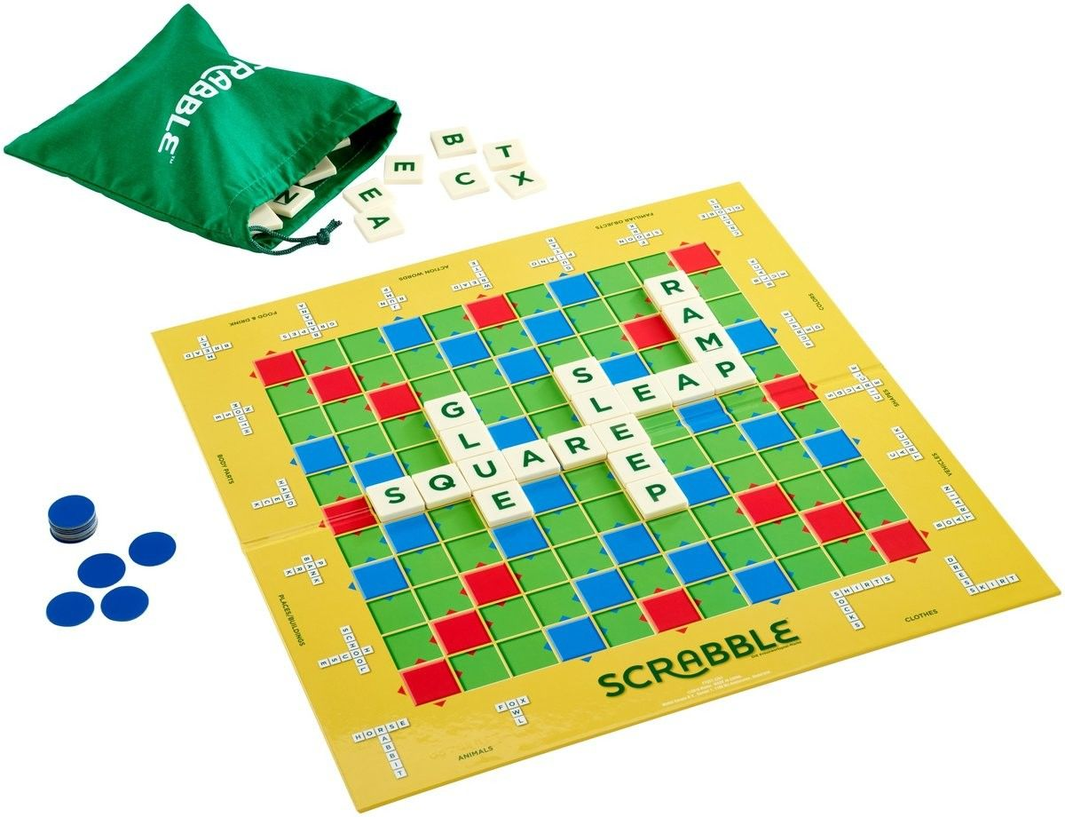 Mattel - Scrabble Practice & Play j.ang GGB32