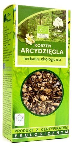 Herbatka z korzenia arcydzięgla BIO 100 g Dary Natury