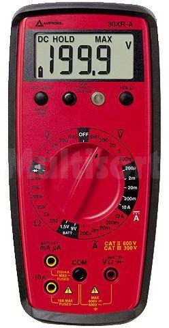 Multimetr cyfrowy BEHA-AMPROBE LCD 3,5 cyfry (1999) Test diody:1mA 3V