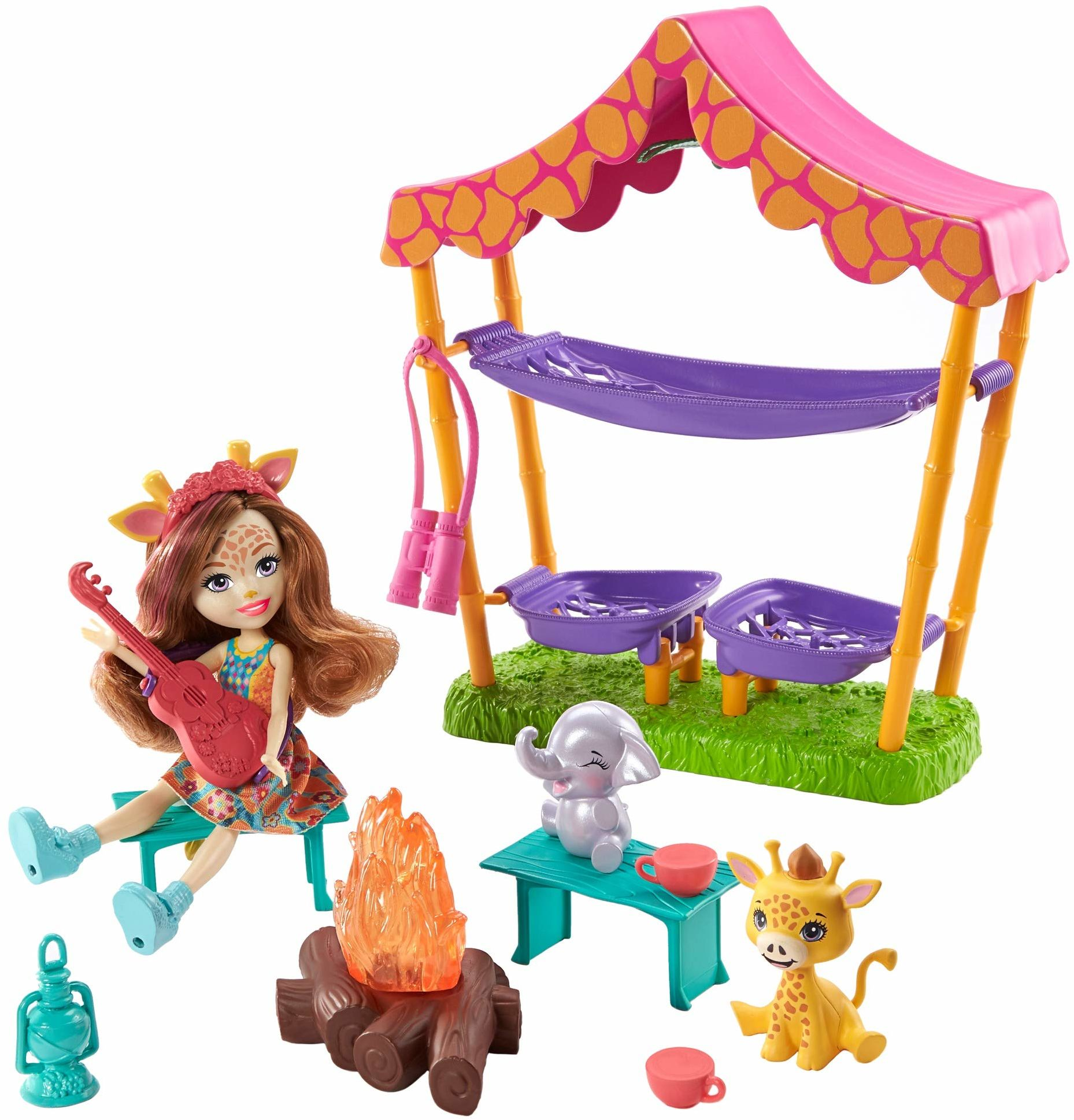 Fisher-Price GTM33 zestaw do gry na kemping