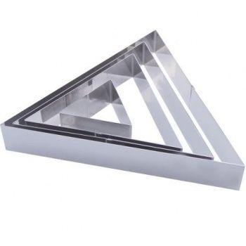 Forma do ciasta trójkątna