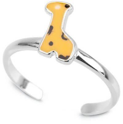 Srebrny pierścionek PSE3478 - Emalia