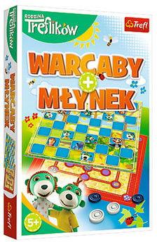 Gra Warcaby i Młynek Trefliki