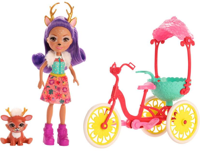 Enchantimals Przyjaciele na rowerze GJX30