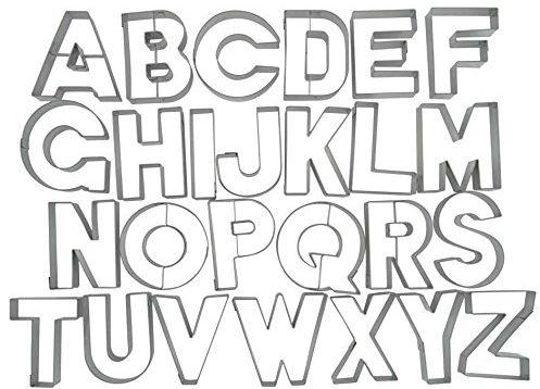 litery; foremki; wykrawania; pieczenia