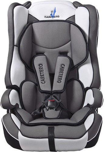 Caretero Vivo fotelik samochodowy 9-36 kg Grey